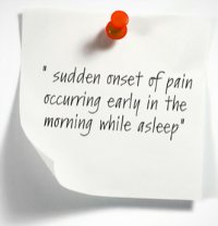 pain in morning