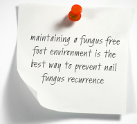 fungus toe nail warning